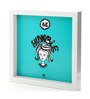 Thinkpot Matte Paper & Acrylic 8 x 8 Inch Be Humble Box Framed Poster