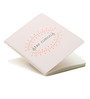 Thinkpot White Paper A6 Stay Curious Small Kraft Book