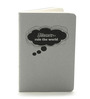 Thinkpot Gray Paper A6 Thoughts Rule The World Small Kraft Book