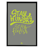 Thinkpot Paper 12 x 1.5 x 18 Inch Stay Hungry Framed Digital Poster
