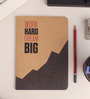 Thinkpot Multicolor Paper Work Hard Dream Big Notebook