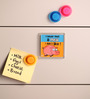 Thoughtroad Multicolour Paper & Plastic Like All Meals Fridge Magnet