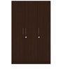 Three Door Compact Wardobe in PLPB with Figured Wenge Finish by Primorati