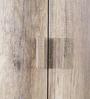 Haruna Three Door Wardrobe in Natural Finish by Mintwud