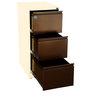 Three Drawer Filing Cabinet by Delite Kom