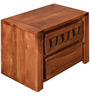 Thyme Night Stand in Honey Brown Colour by @home