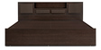 TiagoSuper Storage Queen Bed in Wenge Colour by HomeTown