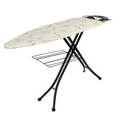 Tiara Carbon Steel Multicolour Portea Ironing Board