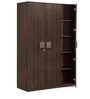TiagoThree Door Wardrobe in Wenge Colour by HomeTown
