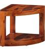Detroit End Table in Honey Oak Finish by Woodsworth