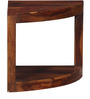 Detroit End Table in Provincial Teak Finish by Woodsworth
