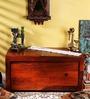 Oakland Trunk Box in Honey Oak Finish by Woodsworth
