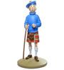 Tintin In A Kilt Statue
