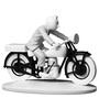 Tintin Riding The Motorbike Hors Serie Statue