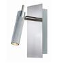Tisva Silver Mild Steel & Aluminium El Pintura Wall Light
