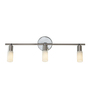Tisva White Mild Steel & Glass El Espectaculo Wall Light