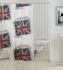 TJAR  Shower Curtain in Flag Print