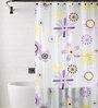 TJAR  Shower Curtain in Floral Print