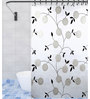 TJAR  Shower Curtain in Floral Print