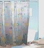 TJAR  Shower Curtain in Geometric Print