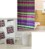 TJAR Set of 2 Shower Curtain