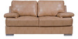 Toby Two Seater Leatherette Sofa in Beige Colour by Home City