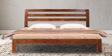 Toledo Queen Bed in Honey Oak Finish by Woodsworth