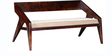 Toston Two Seater Sofa in Provincial Teak Finish by Woodsworth