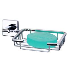 Krm Decor Silver Brass Bathroom Accessories 1 Pc - 1170248