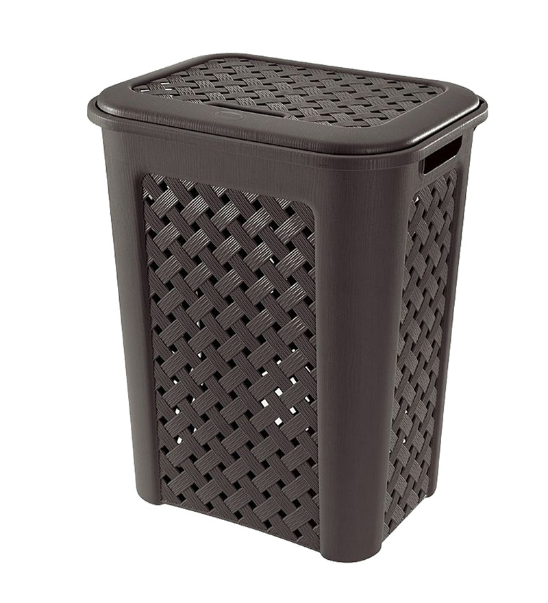 Tontarelli Arianna Big Laundry Hamper Basket With Lid