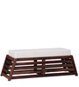 Harrington Sheesham Wood Bench in Provincial Teak Finish by Woodsworth