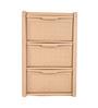 Tontarelli Arianna Plastic Sepia 3-drawer Storage Unit