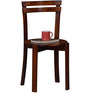 Alma Dining Chair in Honey Oak Finish by Woodsworth
