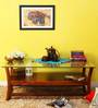 Toston Coffee Table in Honey Oak Finish by Woodsworth