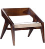 Toston Single Seater Sofa in Provincial Teak Finish by Woodsworth