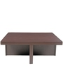 Trendy Coffee Table Set with Four Stools in Rust Delite Colour by ARRA