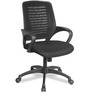 Trendz Executive Chair in Black Colour by VOF