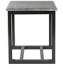 Trento End Table in Stone Grey Finish by Inscape Design