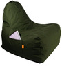 Triangle Bean Bag (Filled with Beans) in XXL Size by Orka
