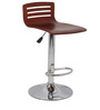 Trimy Bar Chair in Brown Color by The Furniture Store