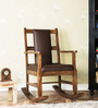 Loxton Rocking Chair in Provincial Teak Finish by Amberville