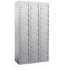 Triple Coloum Locker with 18 doors by Eurosteel
