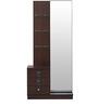 Triumph Dresser With Mirror in Dark Walnut Colour by @home