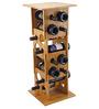 True Deco Tower Set of 16 Bottle Stackable Wine Rack