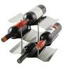 True The Wave 9-Bottle Wine Rack