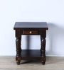 Trydelt End Table in Warm Chestnut Finish by Amberville