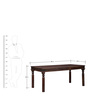 Henfrey Six Seater Dining Set in Provincial Teak Finish by Amberville