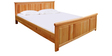 Tuscany King Bed in Teak Finish by Inliving