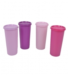 Tupperware Rainbow Tumblers - 340 Ml - Set Of 4