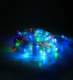 Tu Casa Multicolour Plastic Waterproof Led Multi Color Pipe